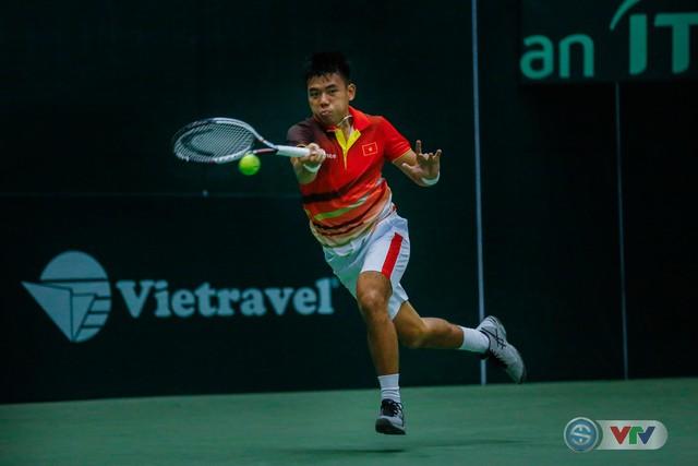 ẢNH: Lý Hoàng Nam ra quân thắng lợi tại Davis Cup - Ảnh 15.