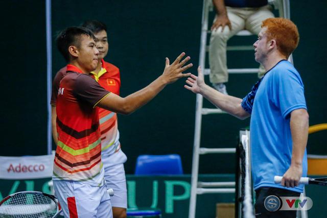 ẢNH: Lý Hoàng Nam ra quân thắng lợi tại Davis Cup - Ảnh 16.