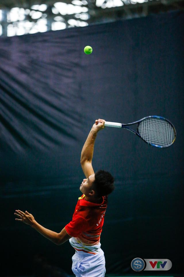 ẢNH: Lý Hoàng Nam ra quân thắng lợi tại Davis Cup - Ảnh 3.