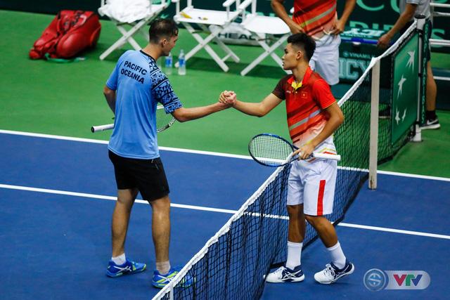 ẢNH: Lý Hoàng Nam ra quân thắng lợi tại Davis Cup - Ảnh 6.