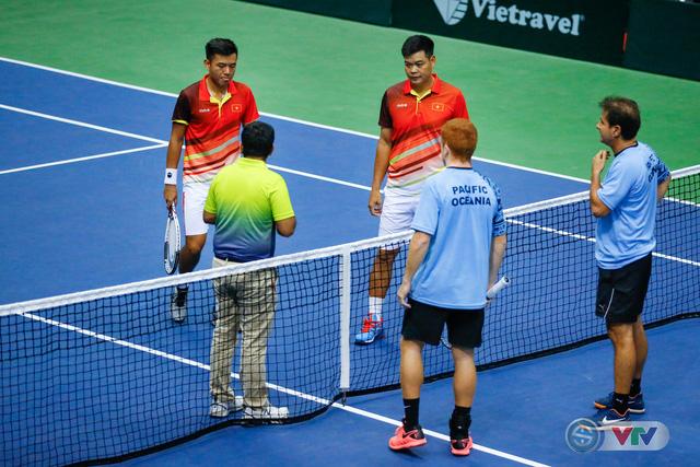 ẢNH: Lý Hoàng Nam ra quân thắng lợi tại Davis Cup - Ảnh 7.