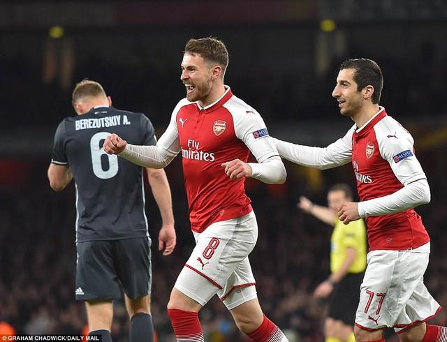 Arsenal 4-1 CSKA Moscow: Đại tiệc bàn thắng - Ảnh 1.