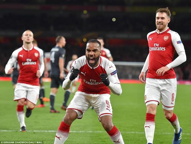 Arsenal 4-1 CSKA Moscow: Đại tiệc bàn thắng - Ảnh 2.