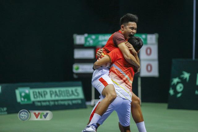 Thắng Qatar, ĐT Việt Nam giành quyền thăng hạng nhóm II Davis Cup – khu vực châu Á – Thái Bình Dương - Ảnh 1.