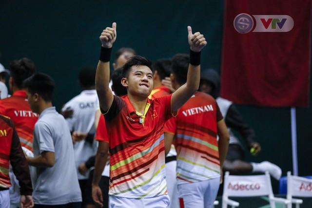Thắng Qatar, ĐT Việt Nam giành quyền thăng hạng nhóm II Davis Cup – khu vực châu Á – Thái Bình Dương - Ảnh 2.
