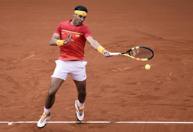 Davis Cup 2018: Nadal giúp ĐT Tây Ban Nha gỡ hòa 2-2 với ĐT Đức - Ảnh 2.