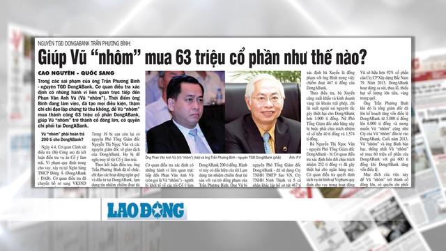 """Vũ """"nhôm"""" đã làm gì để Trần Phương Bình phải cố ý làm trái nhiều quy định? - Ảnh 3."""
