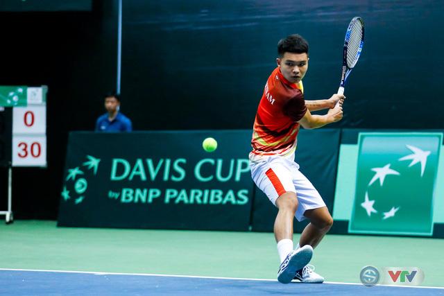 ẢNH: Thắng Qatar, ĐT quần vợt Việt Nam trở lại nhóm II Davis Cup - Ảnh 1.