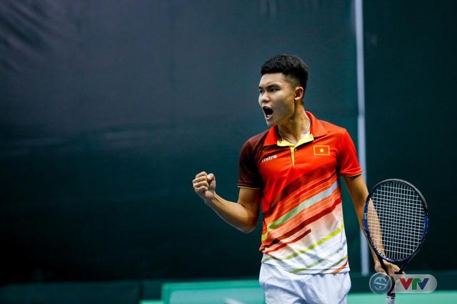 ẢNH: Thắng Qatar, ĐT quần vợt Việt Nam trở lại nhóm II Davis Cup - Ảnh 2.