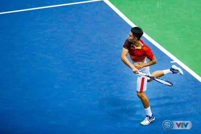 ẢNH: Thắng Qatar, ĐT quần vợt Việt Nam trở lại nhóm II Davis Cup - Ảnh 4.