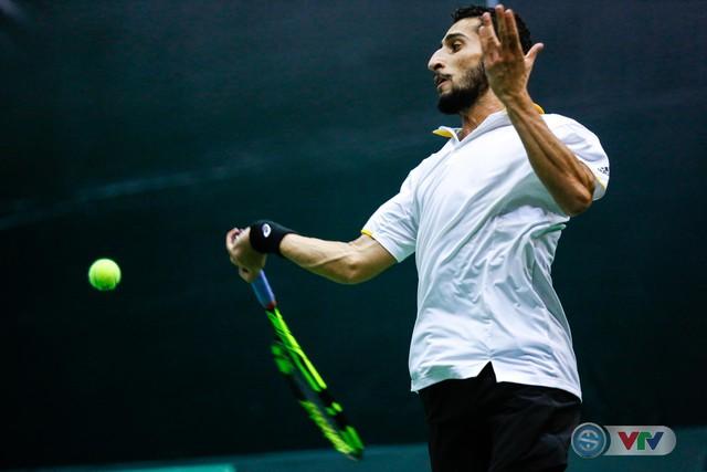 ẢNH: Thắng Qatar, ĐT quần vợt Việt Nam trở lại nhóm II Davis Cup - Ảnh 5.