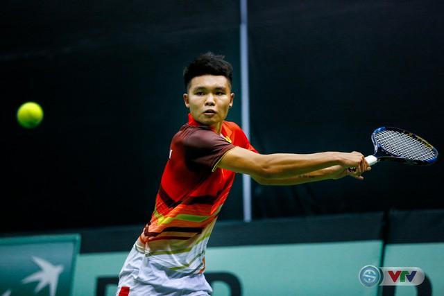 ẢNH: Thắng Qatar, ĐT quần vợt Việt Nam trở lại nhóm II Davis Cup - Ảnh 6.
