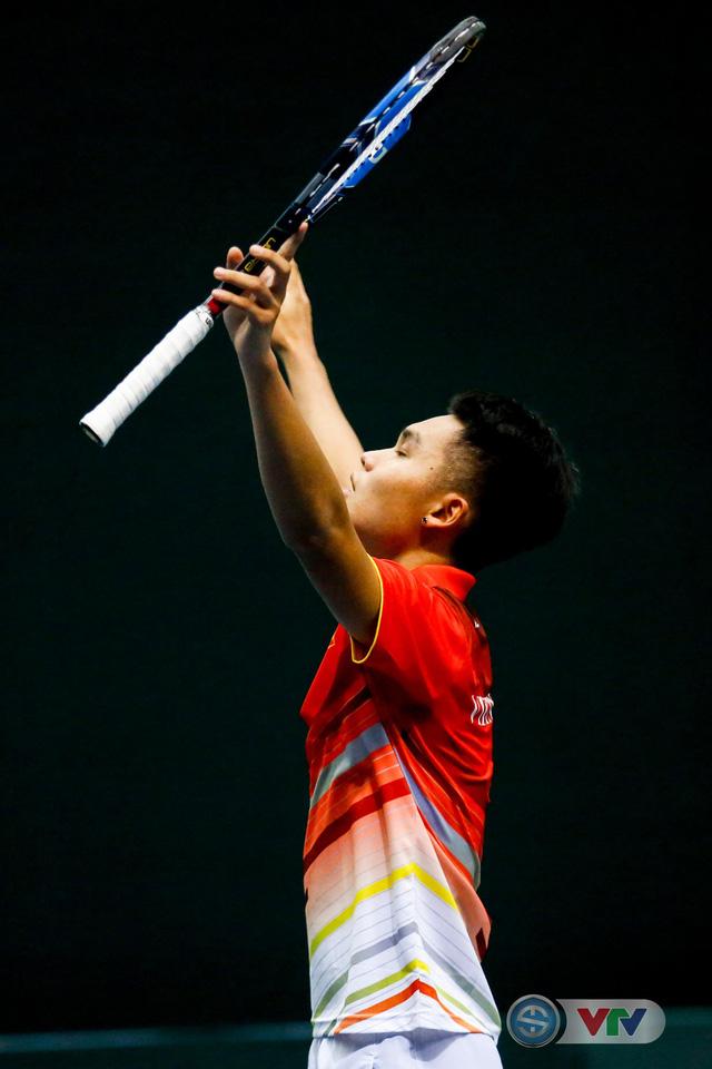 ẢNH: Thắng Qatar, ĐT quần vợt Việt Nam trở lại nhóm II Davis Cup - Ảnh 7.