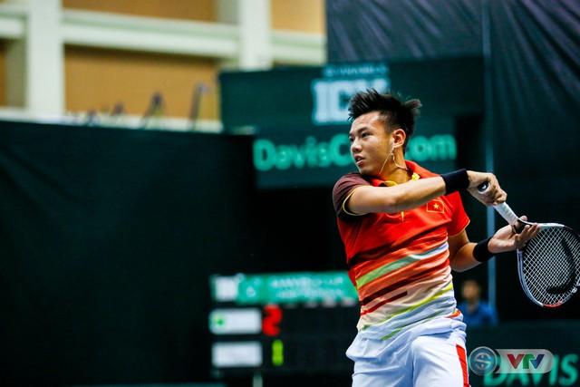 ẢNH: Thắng Qatar, ĐT quần vợt Việt Nam trở lại nhóm II Davis Cup - Ảnh 8.