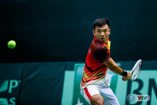 ẢNH: Thắng Qatar, ĐT quần vợt Việt Nam trở lại nhóm II Davis Cup - Ảnh 11.