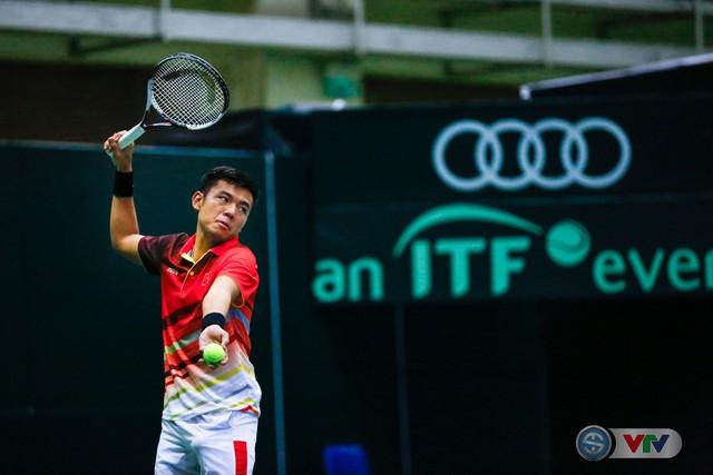 ẢNH: Thắng Qatar, ĐT quần vợt Việt Nam trở lại nhóm II Davis Cup - Ảnh 12.