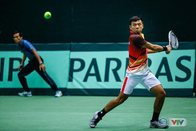 ẢNH: Thắng Qatar, ĐT quần vợt Việt Nam trở lại nhóm II Davis Cup - Ảnh 14.