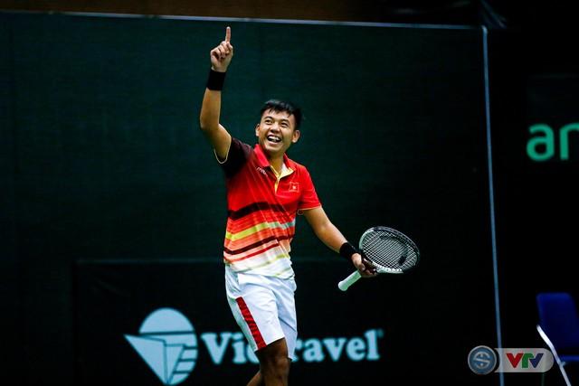 ẢNH: Thắng Qatar, ĐT quần vợt Việt Nam trở lại nhóm II Davis Cup - Ảnh 15.