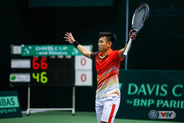 ẢNH: Thắng Qatar, ĐT quần vợt Việt Nam trở lại nhóm II Davis Cup - Ảnh 16.