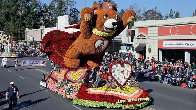 Tưng bừng Lễ diễu hành Hoa hồng tại Mỹ - Ảnh 1.