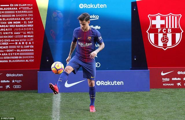 CHÍNH THỨC: Coutinho ra mắt CLB mới, Barcelona - Ảnh 8.
