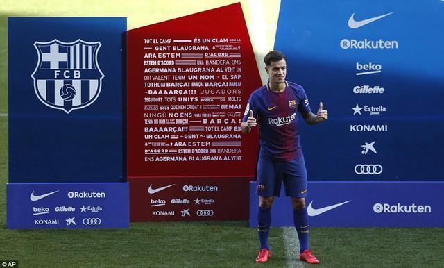 CHÍNH THỨC: Coutinho ra mắt CLB mới, Barcelona - Ảnh 3.