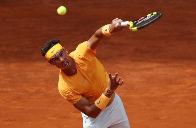 Madrid mở rộng 2018: Nadal giành quyền vào tứ kết - Ảnh 1.