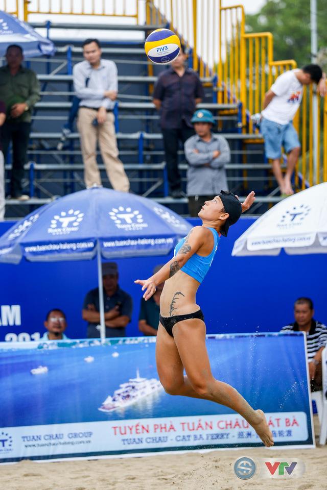 Ảnh: Những khoảnh khắc ấn tượng tại giải bóng chuyền bãi biển nữ thế giới - Tuần Châu Hạ Long mở rộng 2018 ngày 11/5 - Ảnh 5.