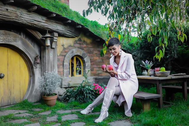 Hoa hậu H'Hen Niê hào hứng đi khám phá New Zealand - Ảnh 4.