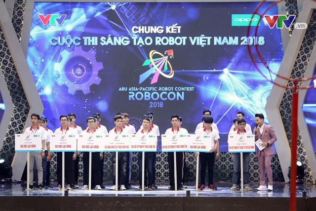 """""""Rồng bay"""" chỉ trong 22 giây, LH - ATM vô địch Robocon Việt Nam 2018 - Ảnh 2."""