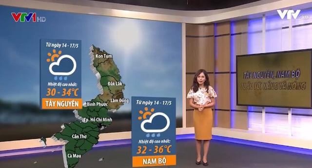 Dự báo thời tiết tuần: Miền Bắc có đợt nắng nóng diện rộng tới 4 ngày - Ảnh 1.