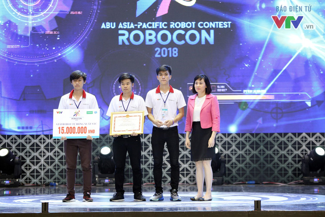 LH - ATM và LH - GALAXY đại diện Việt Nam tham dự ABU Robocon 2018 - Ảnh 6.