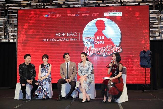 Trấn Thành - Hari Won vác bụng bầu ra mắt show Khi đàn ông mang bầu - Ảnh 5.