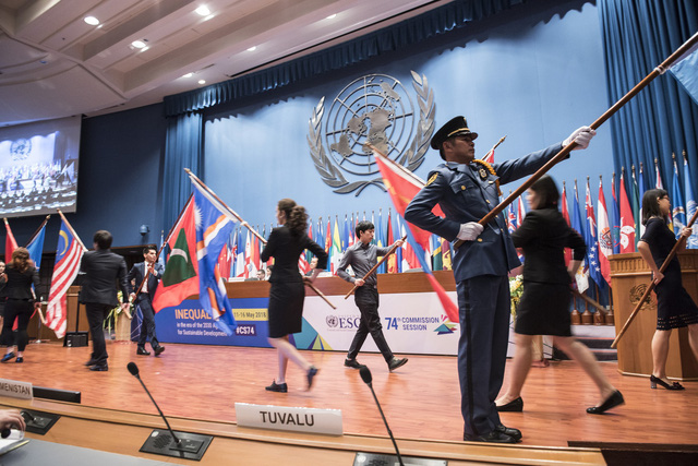 Khóa 74 Ủy ban Kinh tế-Xã hội châu Á-Thái Bình Dương họp cấp Bộ trưởng - Ảnh 1.