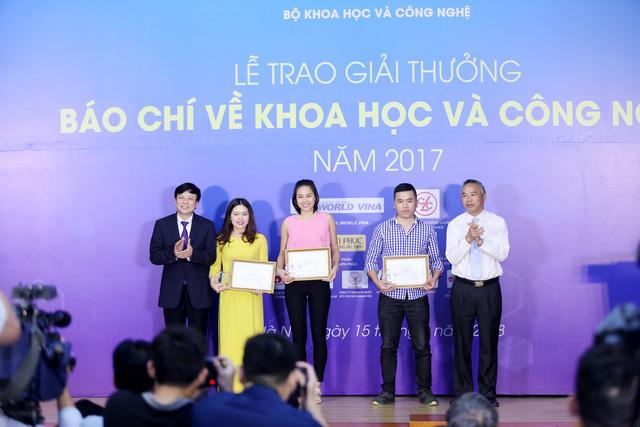 Giải thưởng Báo chí về Khoa học và Công nghệ 2017: VTV giành 1 giải Nhất, 1 giải Nhì - Ảnh 3.