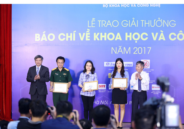 Giải thưởng Báo chí về Khoa học và Công nghệ 2017: VTV giành 1 giải Nhất, 1 giải Nhì - Ảnh 4.
