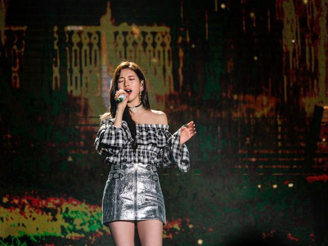 Suzy bật khóc khi họp mặt fan ở Đài Loan - Ảnh 1.
