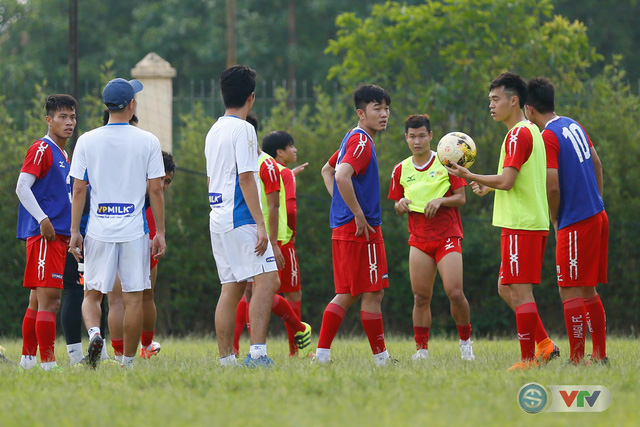 ẢNH: Xuân Trường, Công Phượng tươi như hoa trong buổi tập trước trận gặp CLB Hà Nội - Ảnh 1.