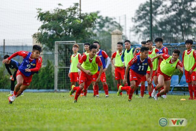 ẢNH: Xuân Trường, Công Phượng tươi như hoa trong buổi tập trước trận gặp CLB Hà Nội - Ảnh 3.