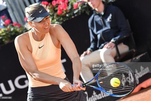 Rome mở rộng 2018: Sharapova thắng nhọc trận ra quân - Ảnh 2.
