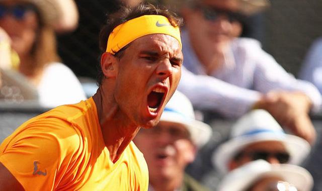 Rome mở rộng 2018: Nadal, Djokovic thẳng tiến, Dominic Thiem bị loại - Ảnh 1.
