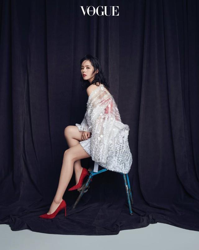 Han Ga In khoe góc mặt đẹp thần thánh - Ảnh 3.