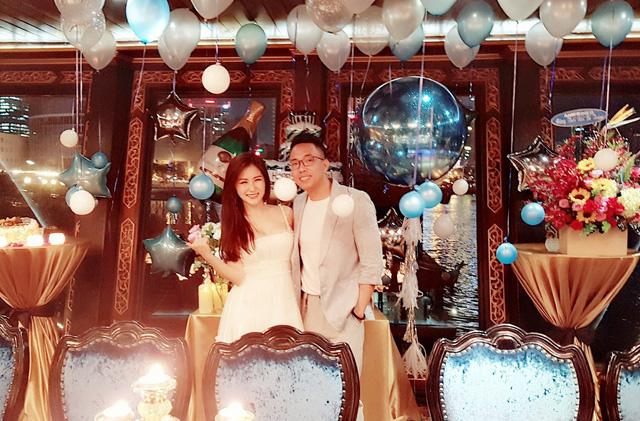 Hương Tràm tổ chức sinh nhật tại du thuyền 5 sao - Ảnh 3.