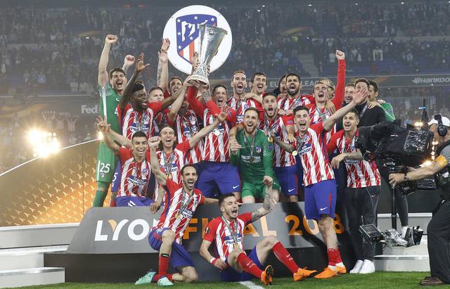 Chung kết Europa League, Marseille 0-3 Atletico Madrid: Griezmann tỏa sáng, Atletico lên ngôi - Ảnh 6.