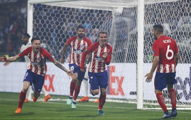 Chung kết Europa League, Marseille 0-3 Atletico Madrid: Griezmann tỏa sáng, Atletico lên ngôi - Ảnh 4.