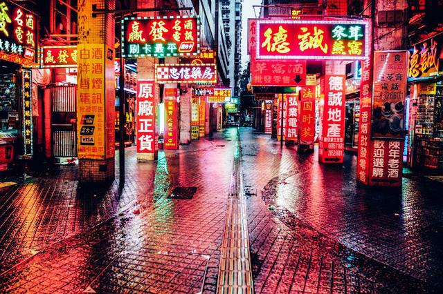 Nghề làm đèn neon ở Hong Kong (Trung Quốc) đang dần mai một - Ảnh 1.