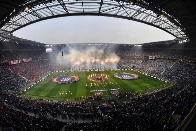 Những hình ảnh đáng nhớ trong trận chung kết UEFA Europa League 2017/18 - Ảnh 1.