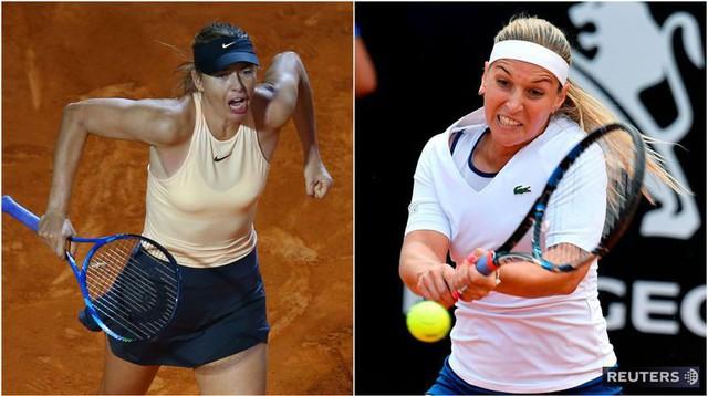 Ngược dòng trước Cibulkova, Sharapova tiến vào vòng 3 Rome mở rộng 2018 - Ảnh 1.