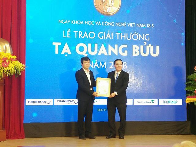 Công bố 3 nhà Khoa học đạt giải thưởng Tạ Quang Bửu năm 2018 - Ảnh 1.