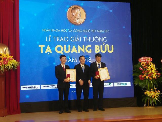 Công bố 3 nhà Khoa học đạt giải thưởng Tạ Quang Bửu năm 2018 - Ảnh 2.